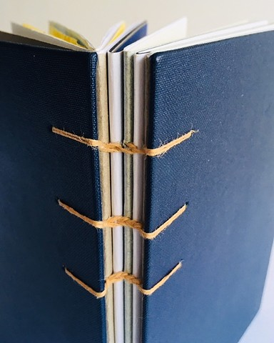 Coptic stitch sketch book