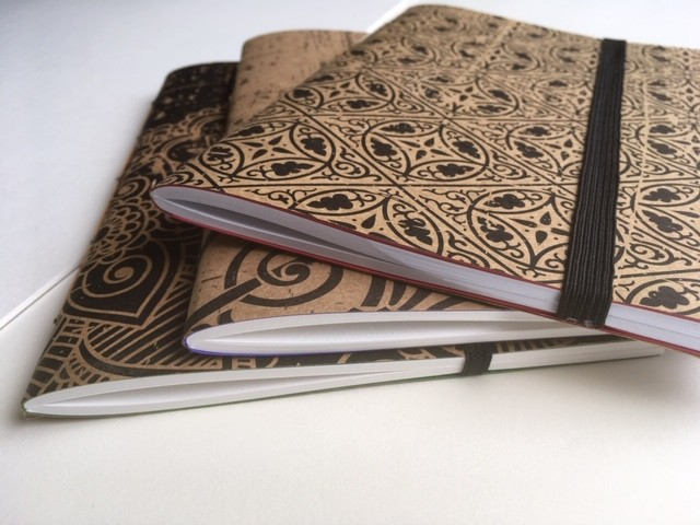 Pamphlet stitch notebooks