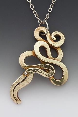 Serpent Medicine Pendant