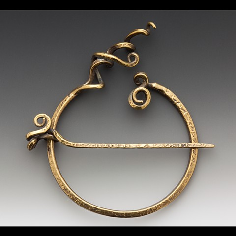 Forged Penannular Pin
