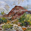 Annimated Landscape Red Mountain