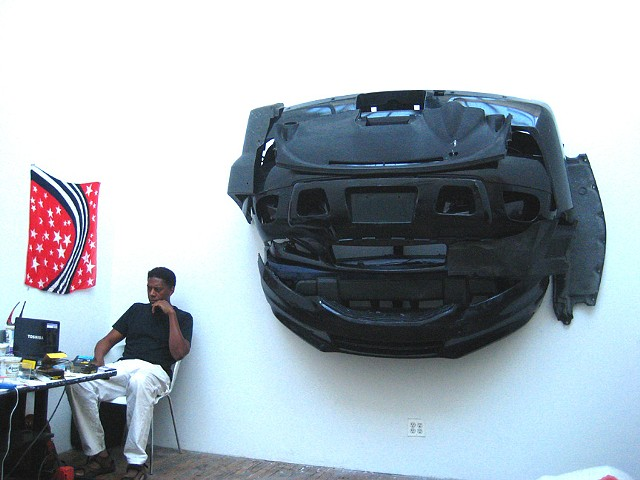 Black Bumper Sculpture