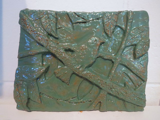 Foundations of Art I  Bas Relief Ceramic Project Systems in Nature