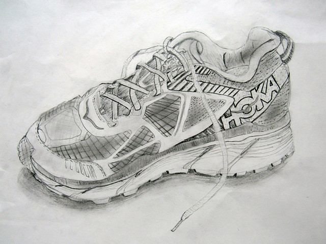 Foundations of Art I Observational Drawing  Shoes