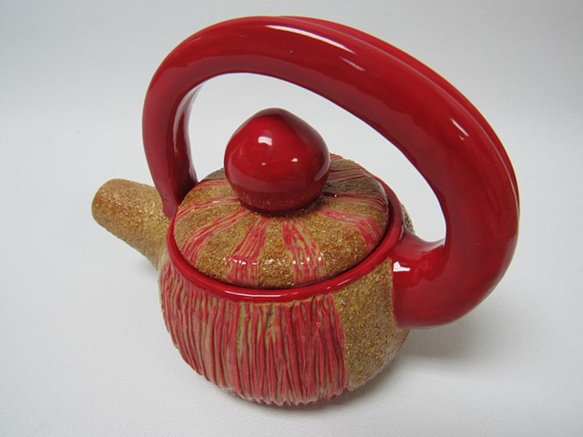 Stirrup Tea Pot