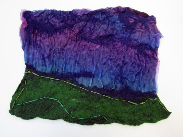 Foundations of Art I Nuno Felting Landscapes