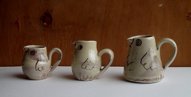 bird jugs, from £5