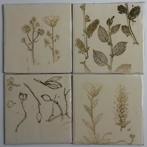 Botanical tiles smaples