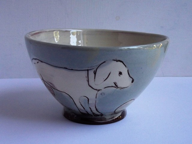 bowl with dogs
