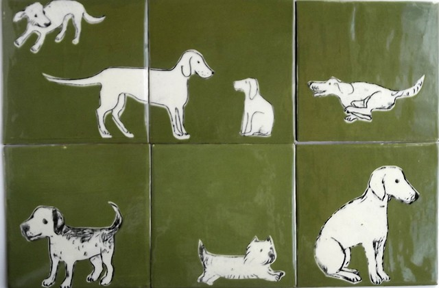 More dogs in the park tiles