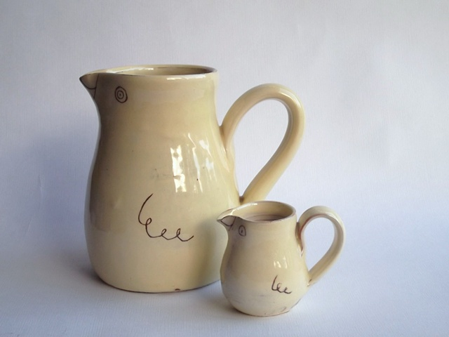 yellow bird jugs