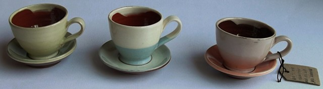 Small cups and saucers