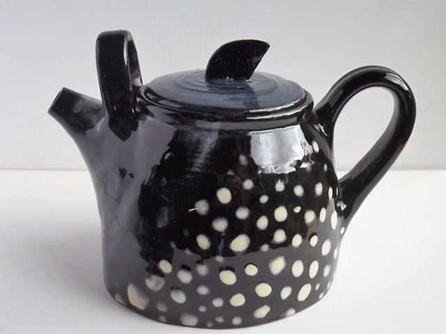 double handled big teapot