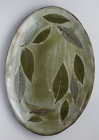 19 oval, leaves