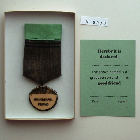 friend medal
