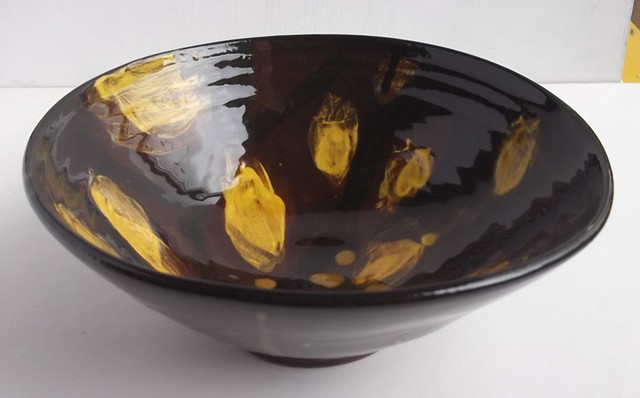 honey glazed bowl