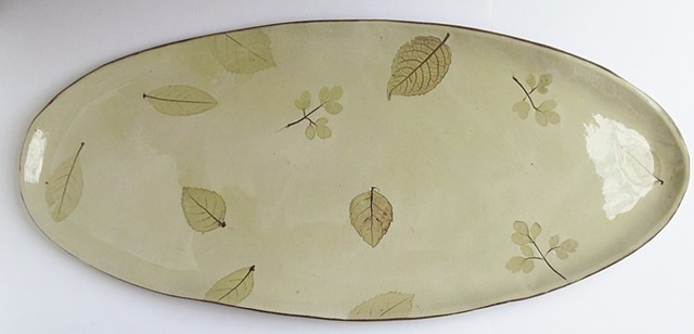 505. Long leaves platter