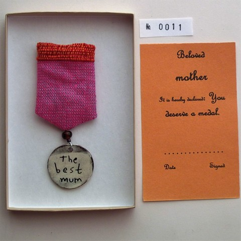 the best mum medal
