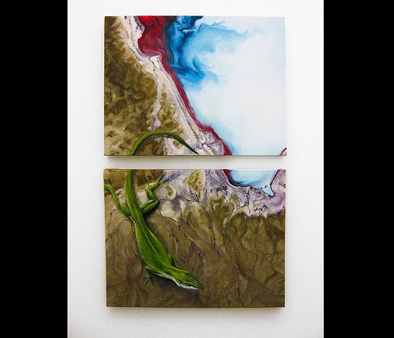 Flood (Anole), Diptych