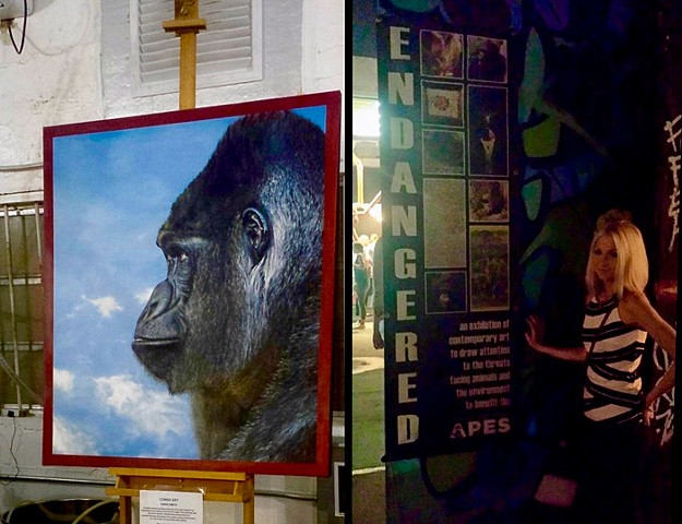 """Endangered"" exhibit in Wynwood Art Basel Miami"