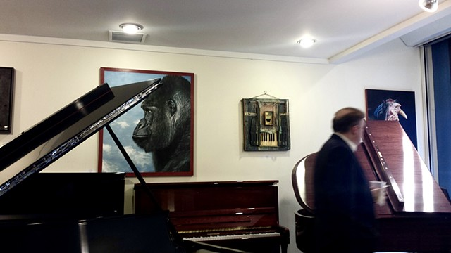 """Ivory Alive"" Six Summit Gallery/Faust Harrison Pianos, Upper West Side New York, NY"