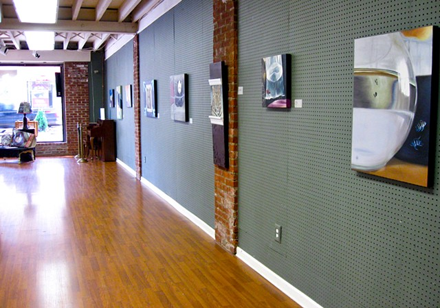 Solo exhibit at Lena Di Gangi Gallery - Totowa, NJ