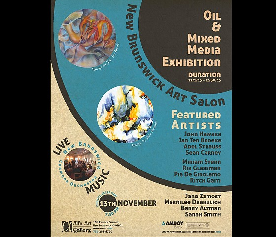 """Oil and Mixed Media Exhibition"" at Alfa Gallery New Brunswick, NJ"