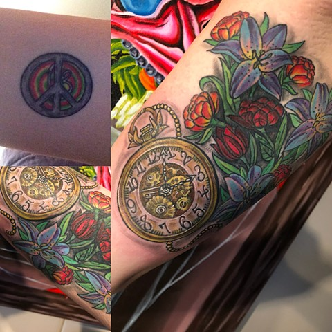 cover up clock