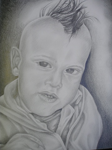 portrait of old friends son