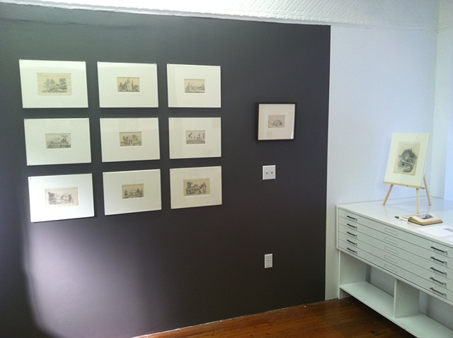 """Norma Hoffman: I'm a Stranger to Kindness"" installation shot, ningyo editions"