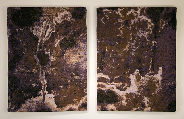 """""""Residue"""" (diptych)"""