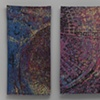 """Star Formation Region of a Painter's Studio"" (diptych)"