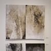 """The Ground Beneath My Feet Diptych"" (top panel: "" Flip Side"" & bottom panel: ""Tire Tracks"")"