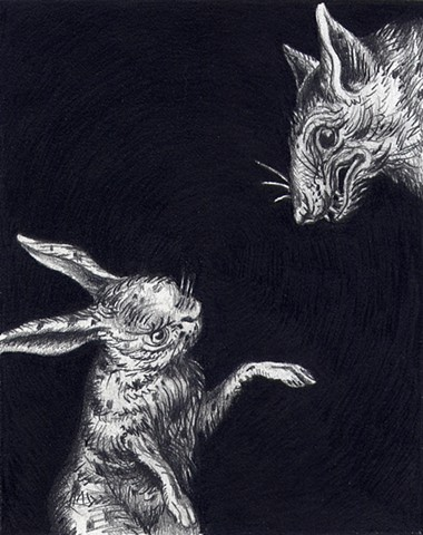Rabbit and Wolf