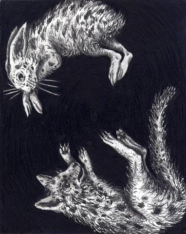Rabbit and Fox