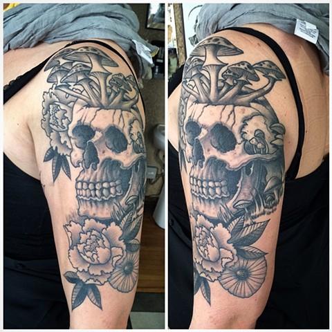 Lauren's skull
