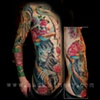 Tanner's reaper rib panel and octopus sleeve