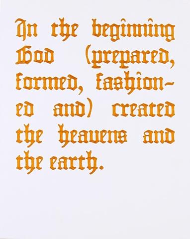 Genesis 1:1 (The Amplified Bible)