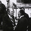 November 2nd, 1975 President Gerald Ford greets Egyptian president Anwar Sadat in Florida