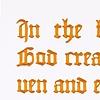 Genesis 1:1 (Tyndale's Old Testament)