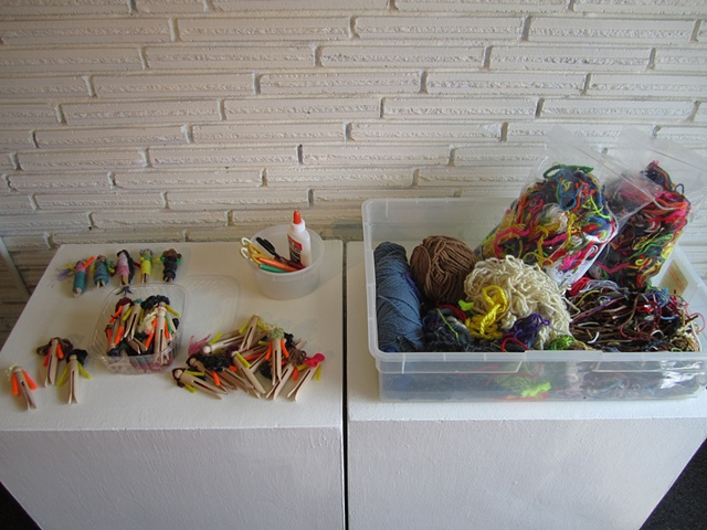 Participatory Art with Worry Dolls