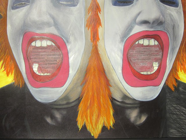 Spit Fire / Bats in Belfries exhibition