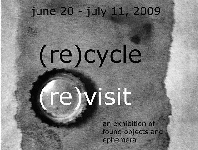 "Riverwest Artists' Association exhibition, ""(re)cycle (re)visit"""