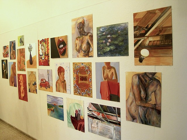 Salon Wall - Student Show