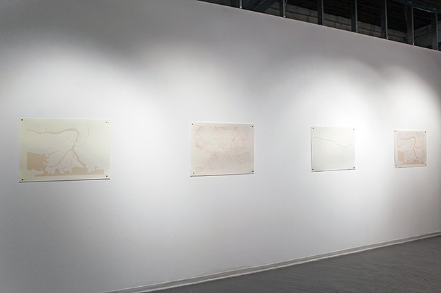 Blueprints series installed at Urban Shaman
