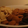 Feast Event - January 16 - gingersnaps, chocolate shortbread, rosemary shortbread.