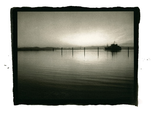 Oregon, OCAC, Coos Bay, north spit, seascapes, Photography, Stephen Takacs, art, operatingroomstudio.com, platinum, palladium, analogue