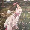 Study of 'Windflowers' by John William Waterhouse
