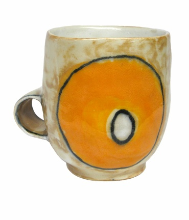 Orange O Hand-built Cup