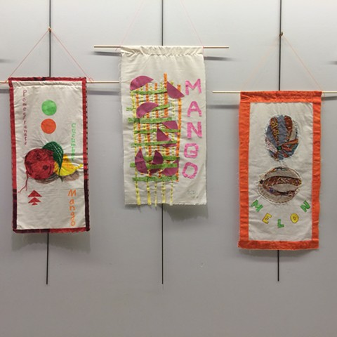 Library Workshop- International Food Banners